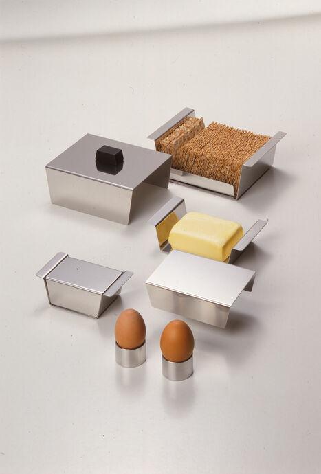 Mono Butter- und Knäckebrotdose