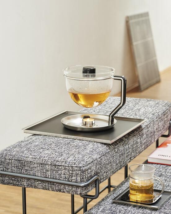 Mono Classic Teekanne (integriertes Stövchen)