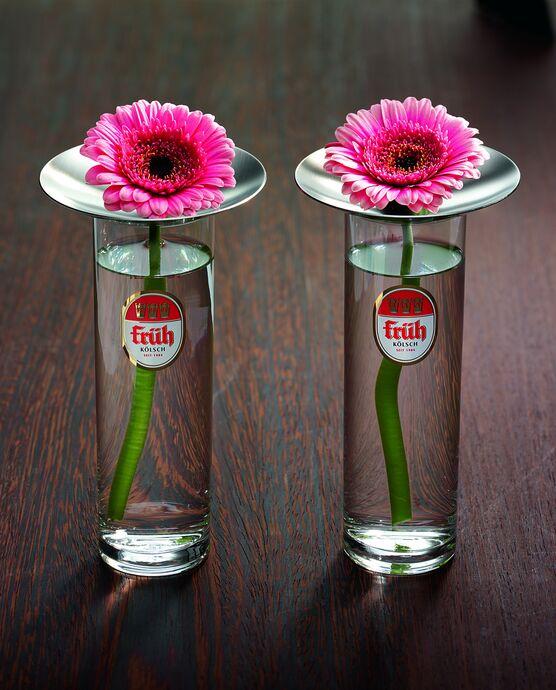 Mono Conglas Edelstahlaufsatz für Blume